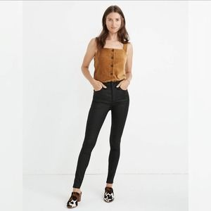"""Madewell 10"""" High-Rise Skinny Jeans Size 32 B425"""